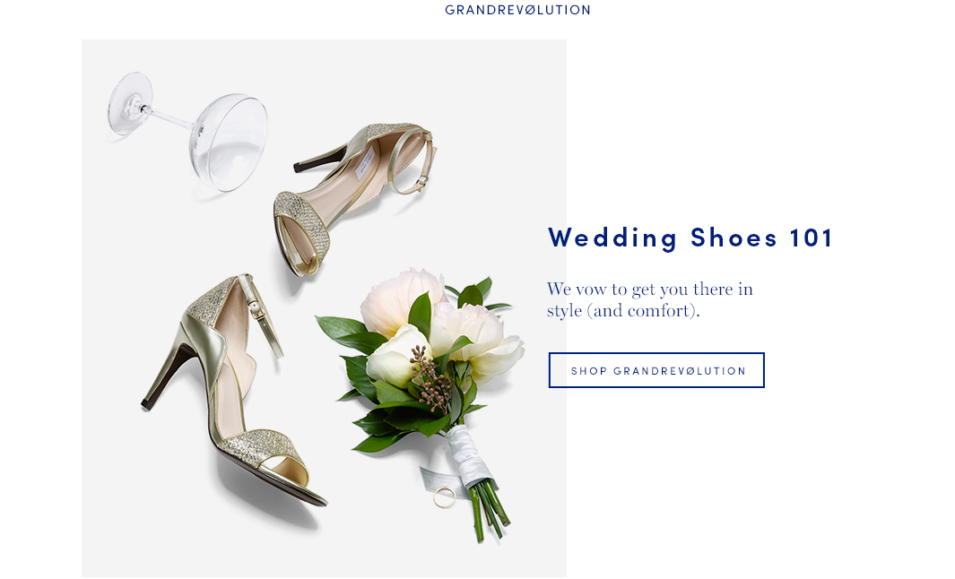 Wedding Shoes 101: We vow to get you there in style (and comfort)