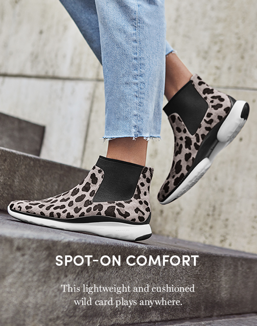 Spot on Comfort - This lightweight and cushioned wild card plays anywhere.