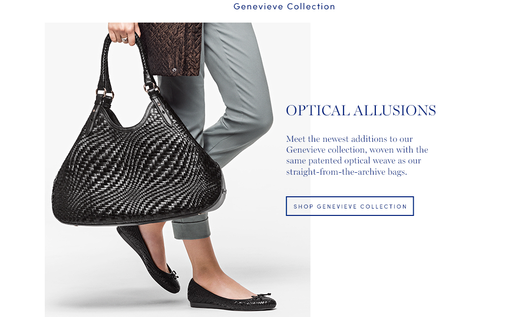 Optical Illusions: Meet the newest additions to our Genevieve collection