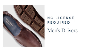 No License Required - men's Drivers