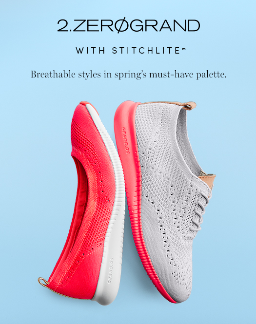 Introducing 2.ZERØGRAND with Stitchlite - Breathable style in spring's must-have palette
