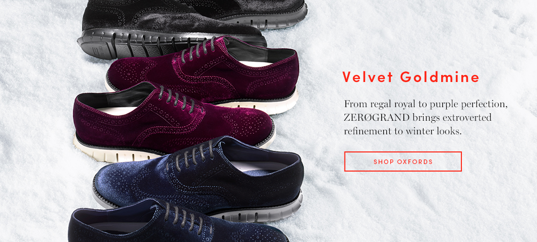 Velvet Goldmine: From regal royal to purple perfection, ZERØGRAND brings extroverted refinement to winter looks.