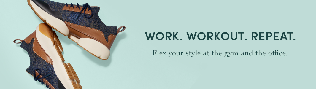 Work. Workout. Repeat. Flex your style at the gym and the office.