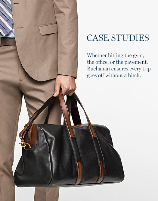 Case Studies: Whether hitting the gym, the office, or the pavement, Buchanan ensures every trip goes off without a hitch.