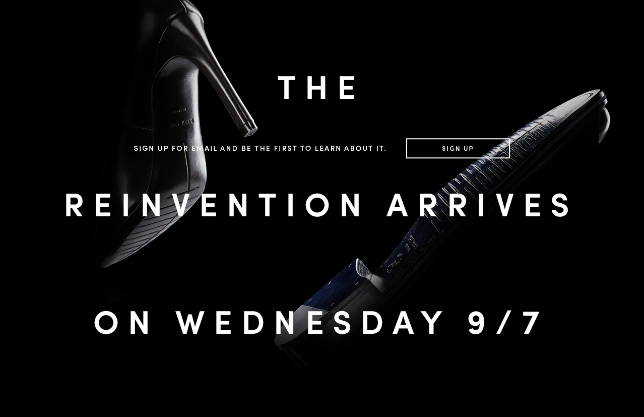 The Reinvention Arrives