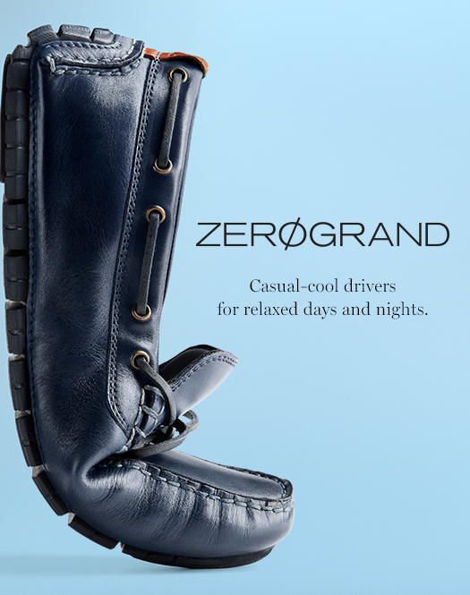 ZerøGand - Casual-cool drivers for re;axed days and nights.
