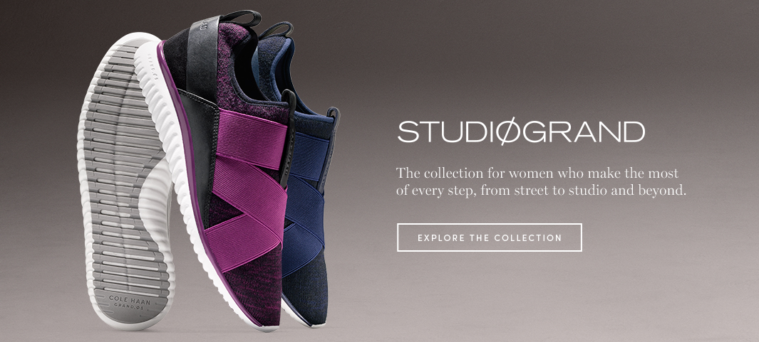 StudiøGrand: The collection for women who make the most of every step, from street to studio and beyond.