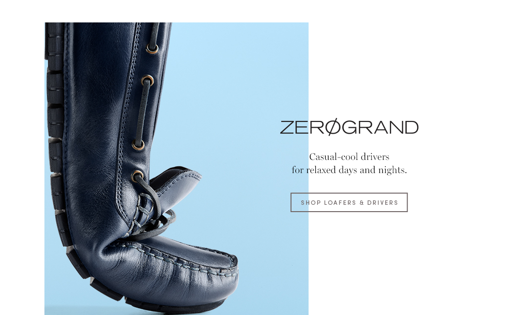 ZERØGRAND - Casual-cool drivers fo relaxed days and nights