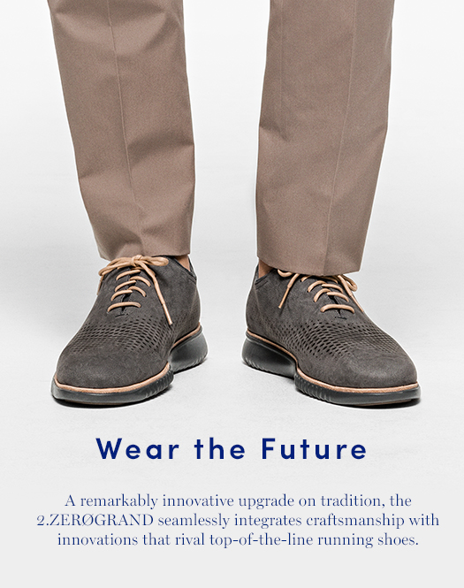 Wear the Future: A remarkably innovative upgrade on tradition, the 2.ZERØGRAND seamlessly integrates craftsmanship with innovations that rival top-of-the-line running shoes.